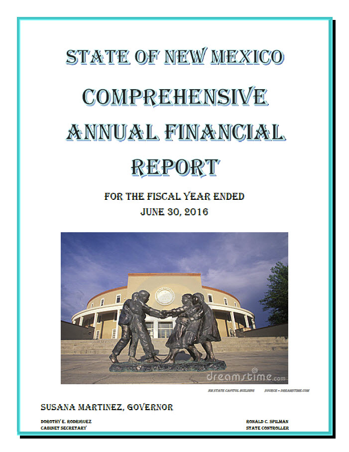 2016 CAFR Report